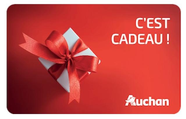 Saviez-vous qu'il est possible de rendre vos courses alimentaires solidaires grâce à la carte cadeau Auchan ?