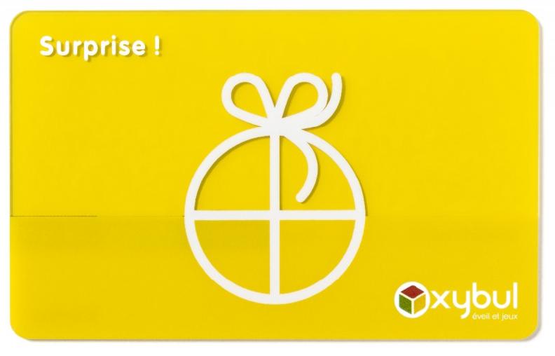La Carte Cadeau Oxybul : une bonne idée de cadeau pour les enfants de 0 à 12 ans