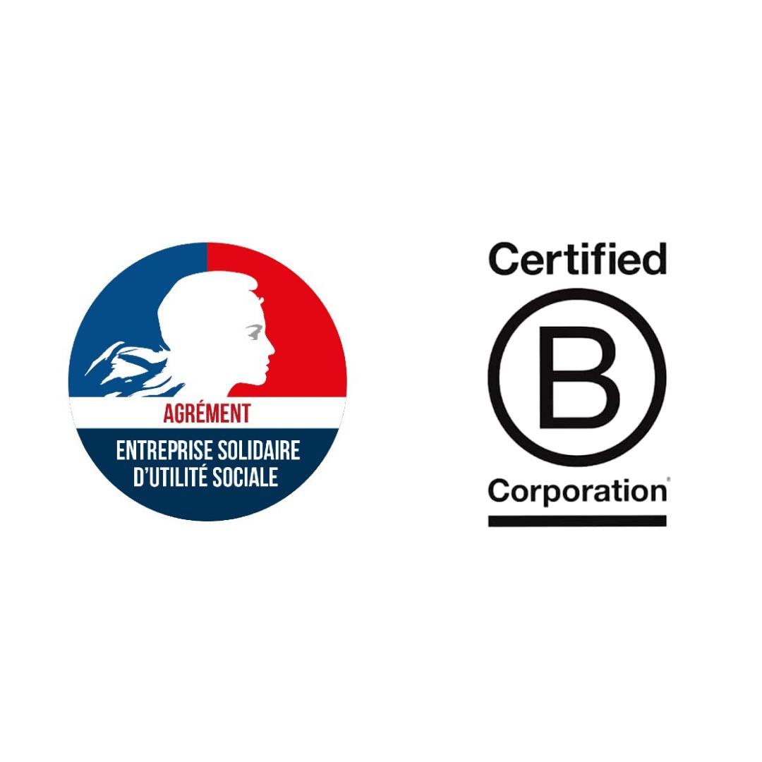 Quelle est la différence entre l'agrément ESUS et la certification B CORP?